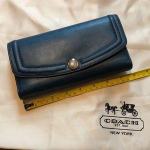 Coach 2pcs Leather Wallet